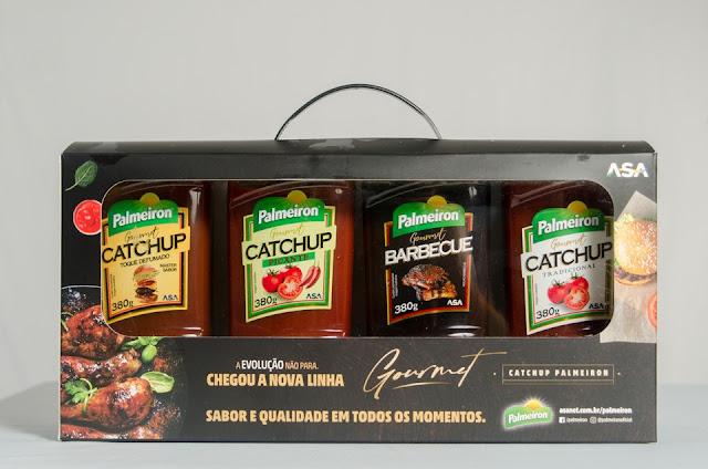 Palmeiron lança linha Gourmet de Catchup