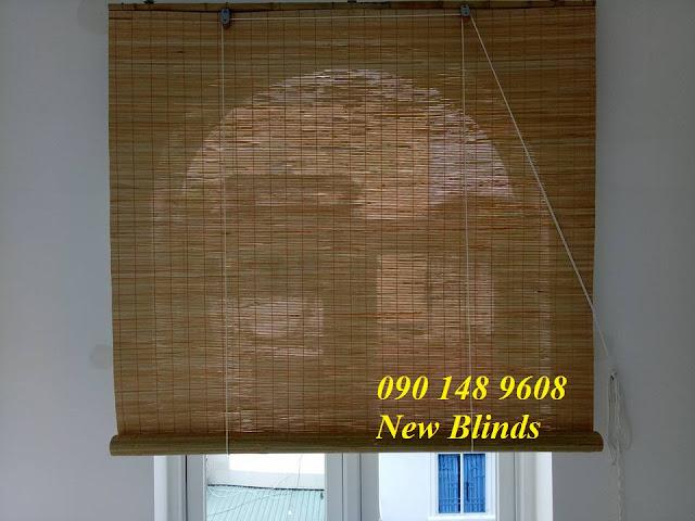 màn trúc che nắng trong nhà