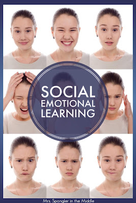 Get new ideas for middle school social emotional learning activities from the #2ndaryELA community! #lessons