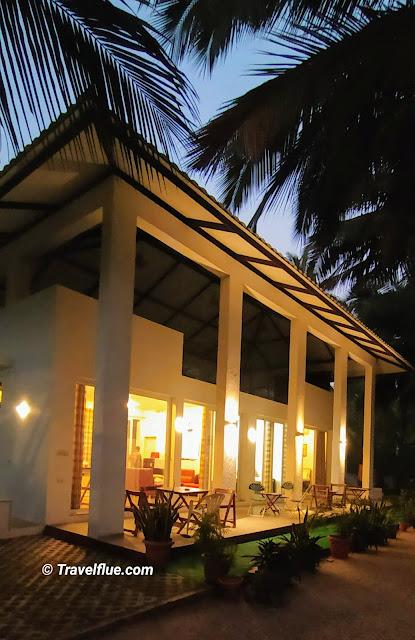 Villa at Gorai Beach by travel flue