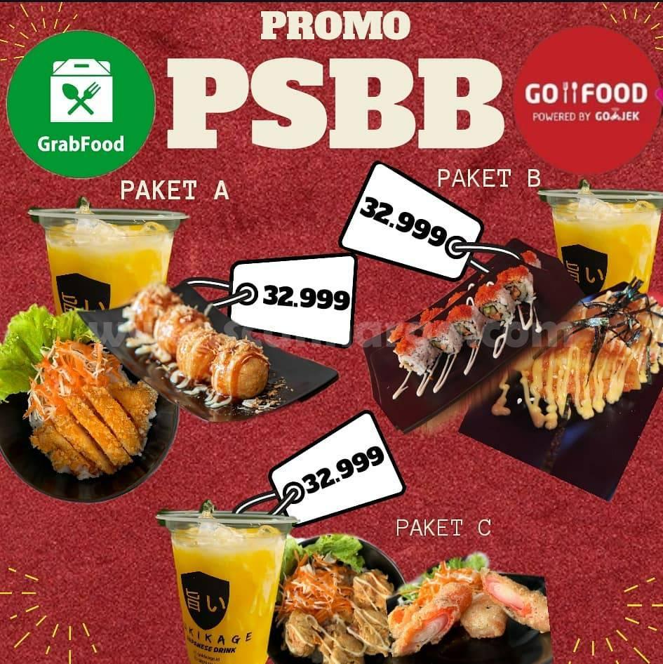 Promo Yukikage Paket PSBB Harga Serba Rp 32.999,-
