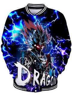 Chaqueta Goku Modo Oscuro
