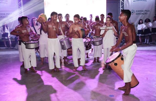 Celebração e festa marcaram o encerramento dos XVII Jogos Escolares Municipais de Caruaru