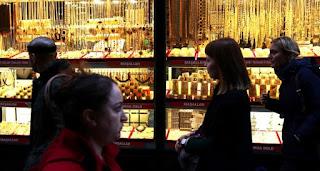 سعر الذهب وليرة الذهب ونصف الليرة والربع في تركيا اليوم الخميس 15/10/2020