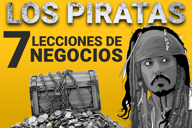 lecciones de negocios de los piratas