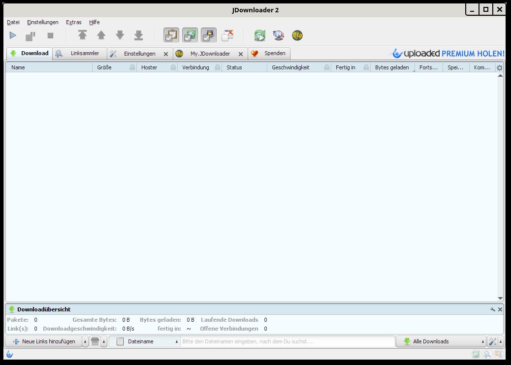 Linux Mint kleine Tips: JDownloader 2 unter Linux Mint installieren
