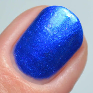 ultramarine blue nail polish