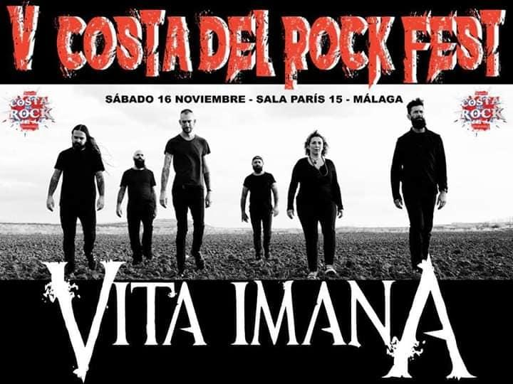 V Costa del Rock Fest  Line UP
