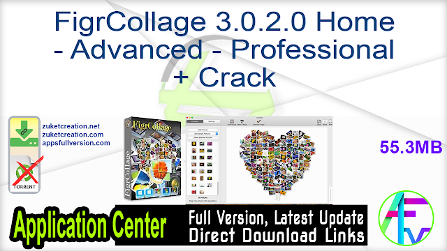 FigrCollage 3.0.2.0 Home – Advanced – Professional + Crack