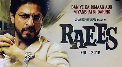 Raees movie official image and banner Raees image
