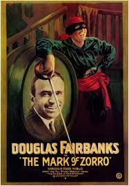 Movie poster for The Mark of Zorro (1920).