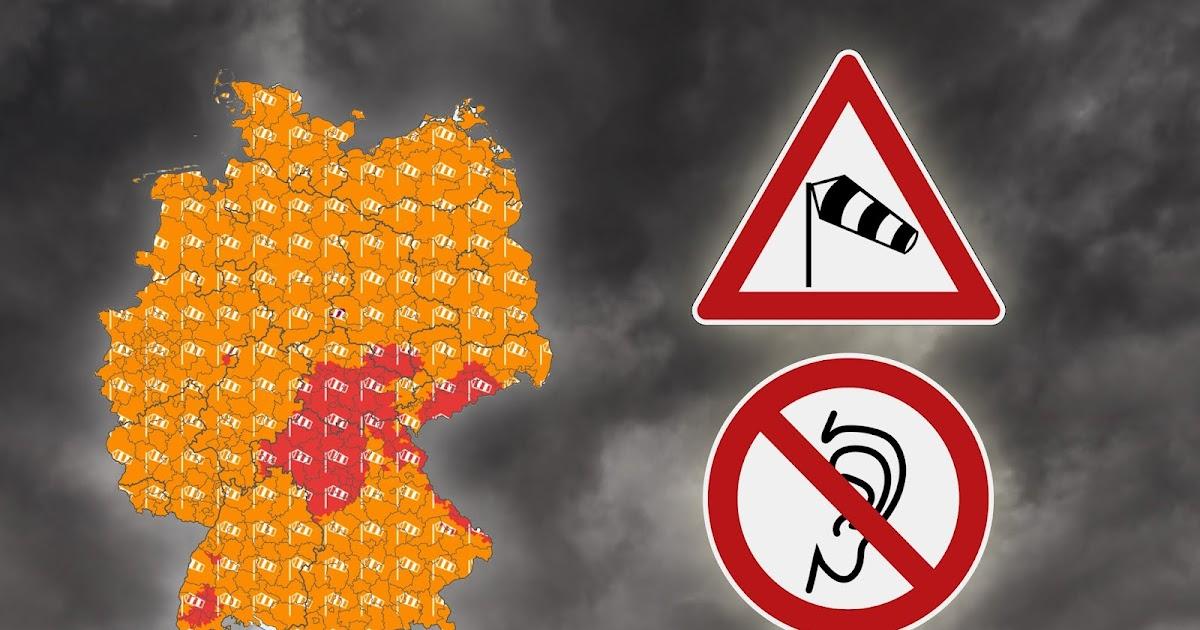 Deutscher Wetterdienst rät Menschen mit Segelohren, das Haus nicht zu verlassen