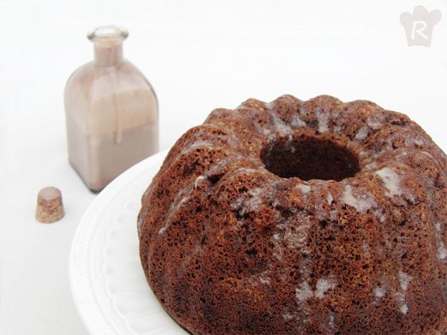 Bundt (bizcocho) de chocolate y Baileys