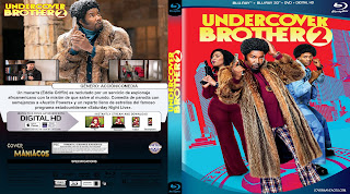 CARATULA 2 UNDERCOVER BROTHER 2 2019[COVER BLU-RAY]