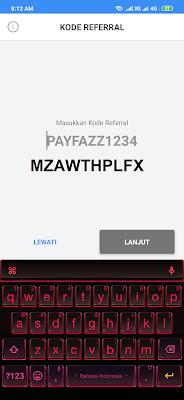 kode referral aplikasi Payfazz