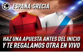 sportium promo España vs Grecia 25-3-2021