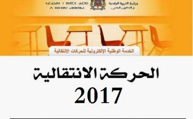 توضيحات حول الطريقة التي ستدبر بها الوزارة نتائج الحركة الإنتقالية المحلية 2017