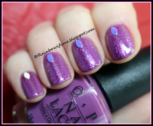 OPI ~ I Manicure For Beads with Catrice shimmer