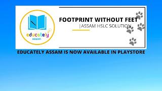 HSLC ASSAM SEBA Solutions | Footprint Without Feet all questions answers | English Class 10