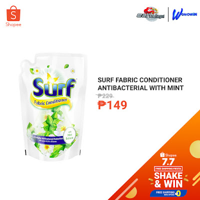 Surf Fabric Conditioner Antibacterial with Mint