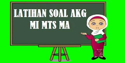 Latihan Soal AKG Pedagogik MI MTS MA dan Pembahasan