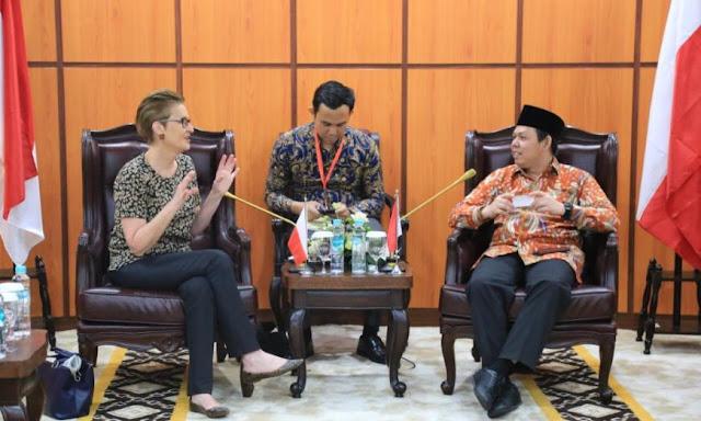 Wakil Ketua DPD RI Ajak Dubes Polandia Tingkatkan Kemitraan Indonesia