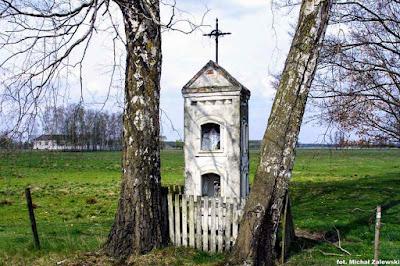 Kapliczka wnękowa, Małowidz, Kurpie