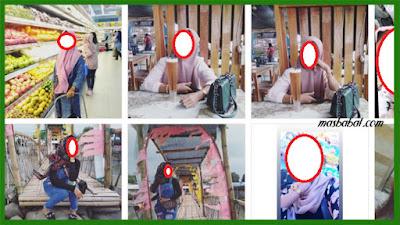 Wanita cantik yang diketahui sempat berkerja di salah satu toko ponsel di Kota Sigli Kabupaten Pidie Provinsi Aceh tersebut baru saja pulang dari Meulaboh, Aceh Barat beberapa hari yang lalu.