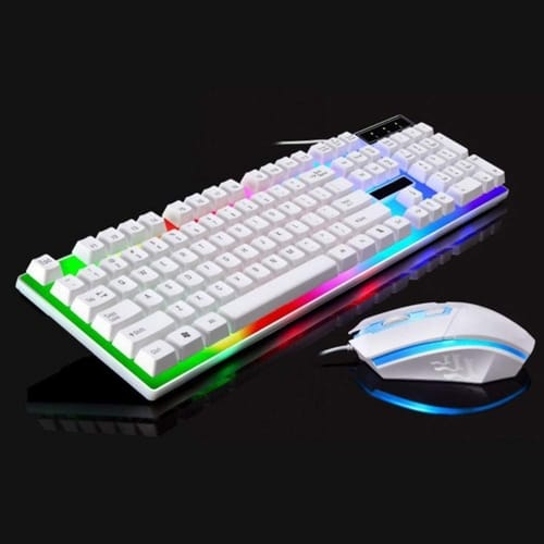Review HJK Wired USB Lighting Keyboard Mouse Sets