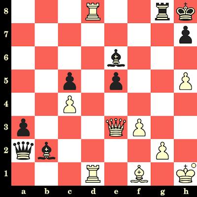 Les Blancs jouent et matent en 4 coups - Jiner Zhu vs Lela Javakhishvili, Khanty Mansyisk, 2018