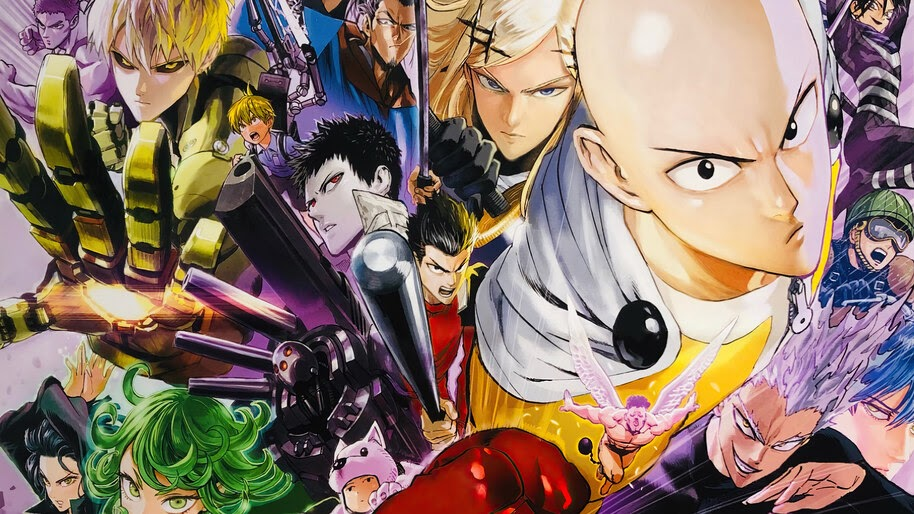 One Punch Man, S-Class, Anime, Characters, 4K, #6.801