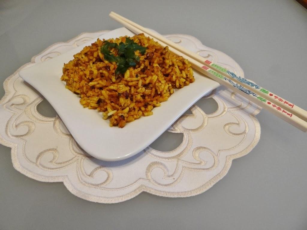 Ryż z przyprawami