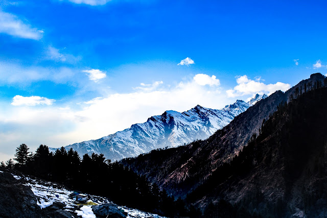 Kheerganga view from the top