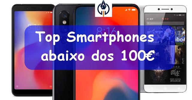 Top Telemóveis abaixo 100€