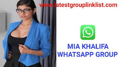 Join 50+ Mia Khalifa Latest Whatsapp Group Links 2020