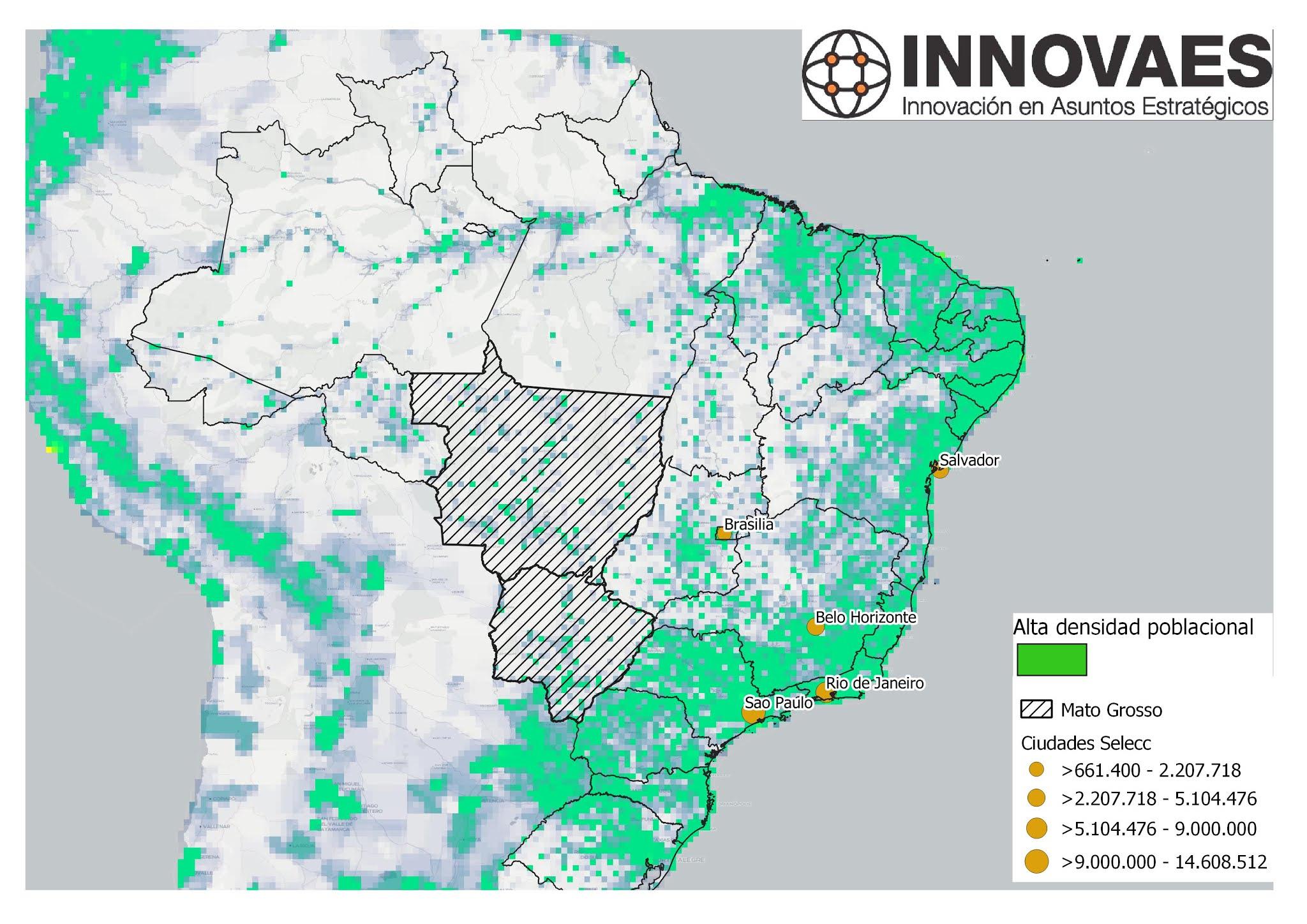 Agronegocio en Brasil