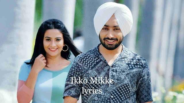 Ikko Mikke lyrics in Hindi - Satinder Sartaaj