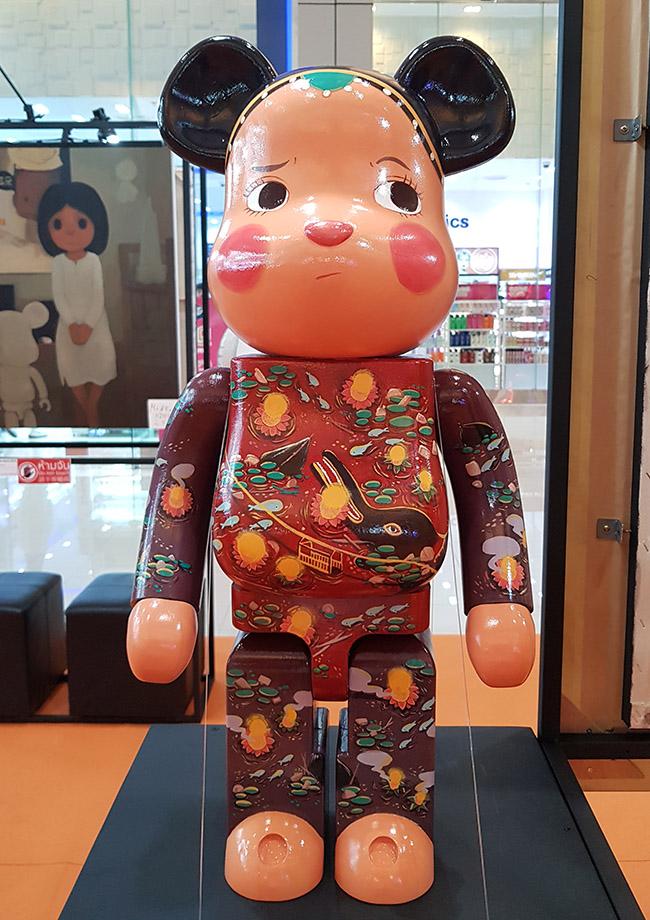 Manasawee Rojanaphan มนัสวี โรจนพรรณ - Color Me Bear 2018 designer Be@rBrick toy