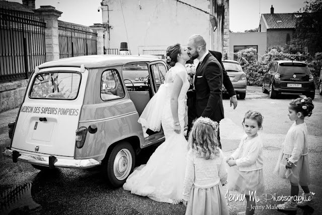 photo noir et blanc reportage mariage