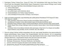 Soal USBN PKN SMA/MA K13