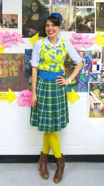 Cassie Stephens Art Teacher Wore #158