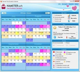 Hamster Women's Calendar
