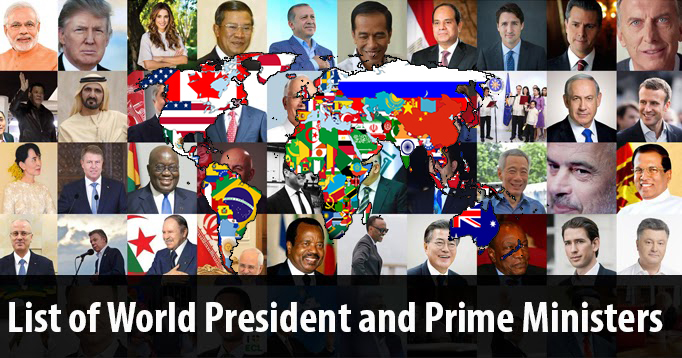 List-of-World-President-and-Prime-Ministers-King-Councelor