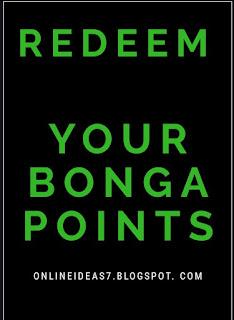 Bonga points redeemed