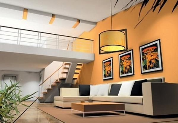 Model Desain Ruang Tamu Rumah Minimalis  Lantai