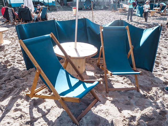 Riley's Fish Shack, Tynemouth: deckchair booking