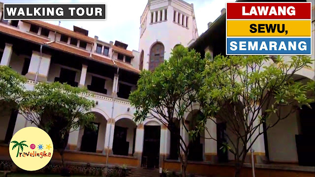 Lawang Sewu, a Haunted Old Dutch Building in Semarang