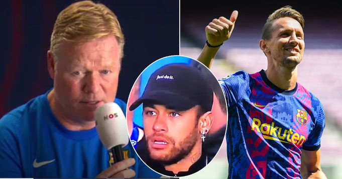 Koeman reveals Luuk de Jong more dangerous than Neymar with a cross