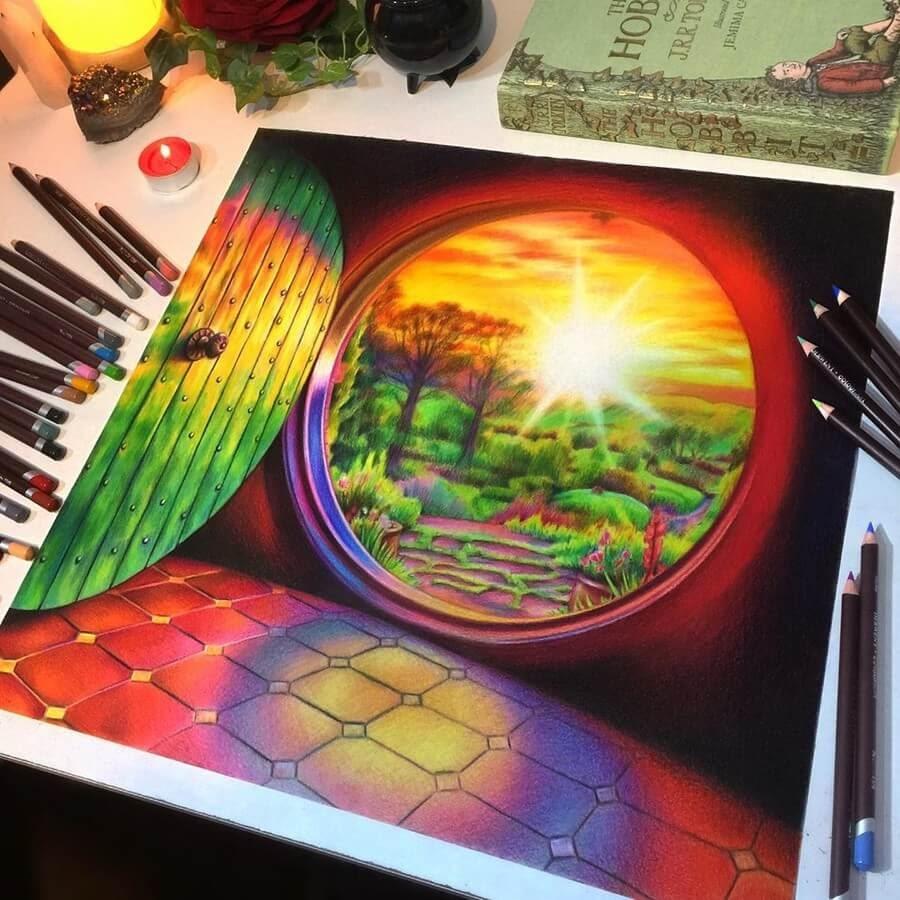 04-Hobbit-Home-Jenna-Very-Vivid-Colors-in-Varied-Drawings-www-designstack-co