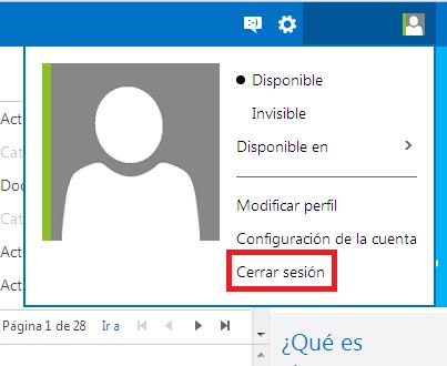 Outlook.com: Como cerrar sesión en tu cuenta